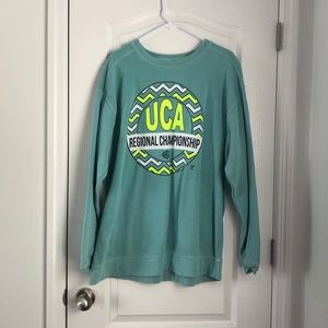 UCA cheer long sleeve sweatshirt